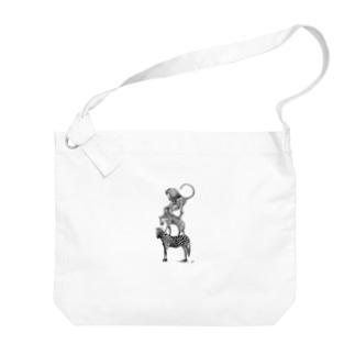 ワイルドブレーメン(Love All Wild Animals) Big shoulder bags