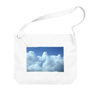 入道雲3 Big shoulder bags