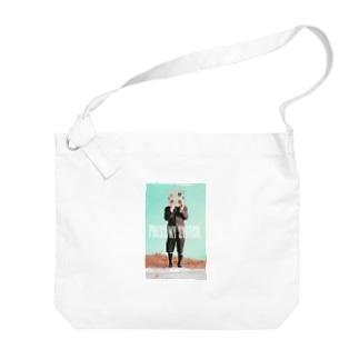 【PRESS MY SWICH】 Big Shoulder Bag