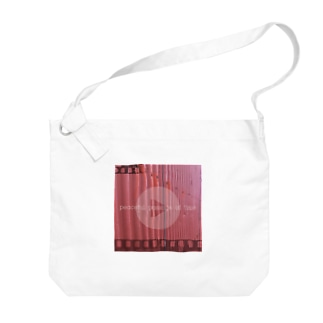 【PEACEFUL PASSAGE OF TIME】 Big shoulder bags