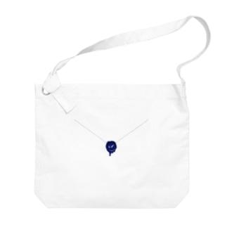 封筒風・シーリング・コスモ Big shoulder bags