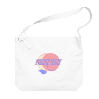 ピーチタイム🍑 Big Shoulder Bag