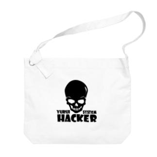 YURUI HACKER Big shoulder bags