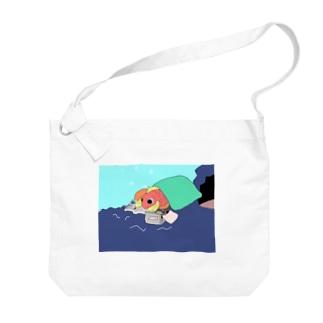 ごろごろし鯛(たい)01(完全版)-ごろ鯛(たい) Big Shoulder Bag