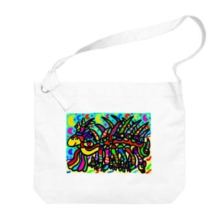 ハルキゲニア Big shoulder bags