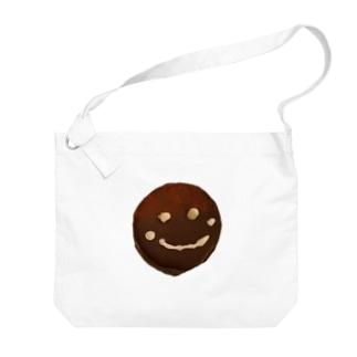 ザッハトルテの微笑み Big shoulder bags