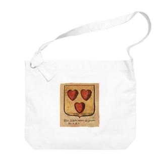 フランスの紋章 Big shoulder bags