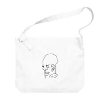 芸術作品 Big shoulder bags