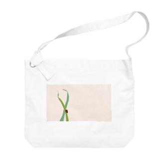 てんとう虫 Big shoulder bags