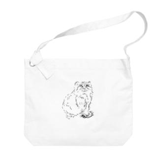 マヌルネコ Big shoulder bags