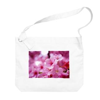 永遠の桜 -思いを託して- Big shoulder bags