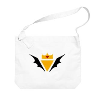 Rubyの魔界ロゴグッズ Big shoulder bags