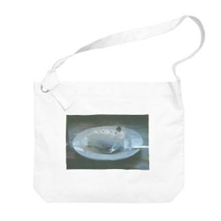 ショートケーキ Big shoulder bags