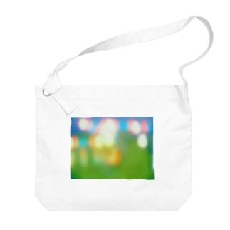 祭りのあと Big shoulder bags