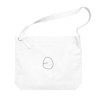 たまごさん Big shoulder bags