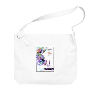 fika(ん) Big shoulder bags