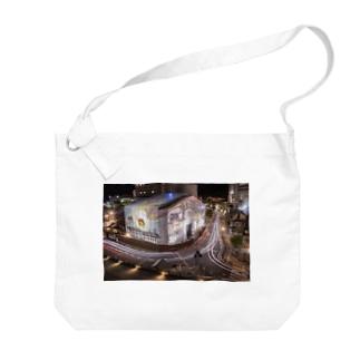 道後温泉 Big shoulder bags