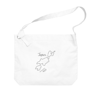ゆるいJapan Big shoulder bags