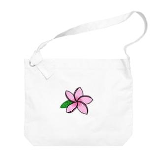 プルメリア三姉妹 Big shoulder bags
