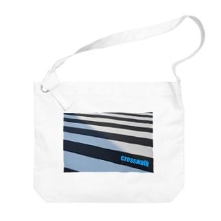 photo-kiokuの横断歩道 Big shoulder bags
