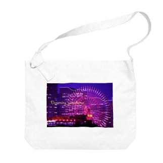 横浜夜景4 Big shoulder bags
