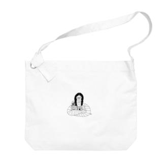 包帯まきまきちゃん Big shoulder bags