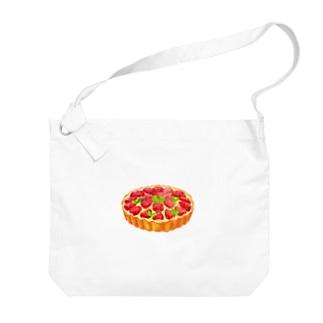 いちごタルト Big shoulder bags