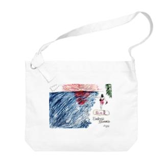 King.K 「私の夏-Endless Summer-」 Big shoulder bags