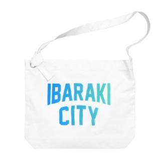 茨木市 IBARAKI CITY Big shoulder bags