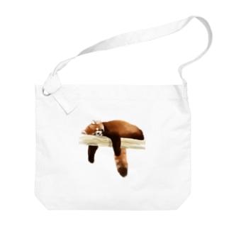 大原 司朗のAnimals シリーズ 〜レッサーパンダ〜 Big shoulder bags