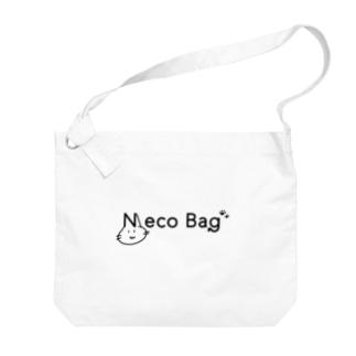 ネコバッグ Big shoulder bags