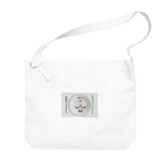 青春ピカソ Big shoulder bags
