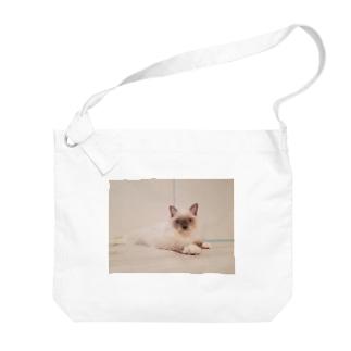 子猫もなか Big shoulder bags