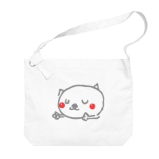 matsukingのおやすみニャんこ  Big shoulder bags