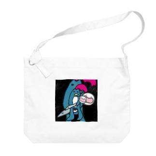 ソルジャーぺんぎんの子守唄(ララバイ) Big shoulder bags