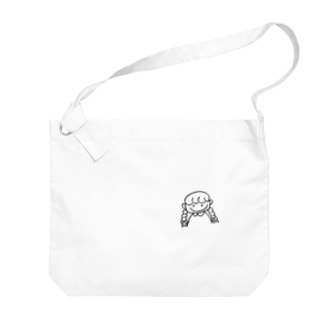 桃色乙女🍒🐻のモモイロちゃん Big shoulder bags