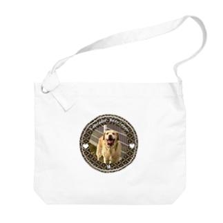 ラブラドールレトリバー 球 Big shoulder bags
