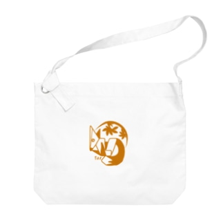 aniまる キツネ / T-shirt Big shoulder bags