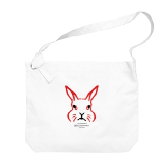 動物隈取 10周年記念グッズ Big shoulder bags