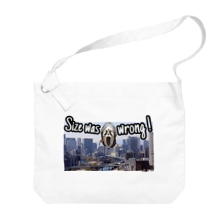 Size was wrong(サイズが間違っていた) Big shoulder bags