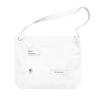 テディ轟・ランダムロゴ Big shoulder bags