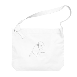 くつろぎのビオラ Big shoulder bags