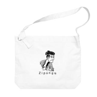 浮世絵 Big shoulder bags