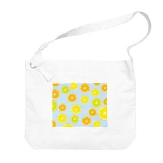 オレンジ&レモン&ライム Big shoulder bags