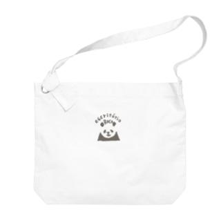 パンダ(escritórioROCA/2) Big Shoulder Bag