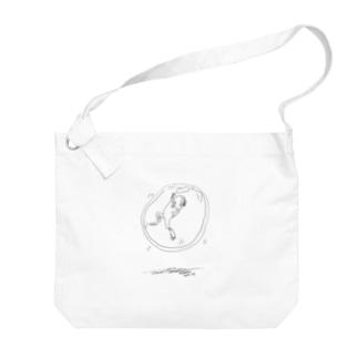 宙ぶらりん Big shoulder bags