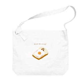 おいしい睡眠 Big shoulder bags