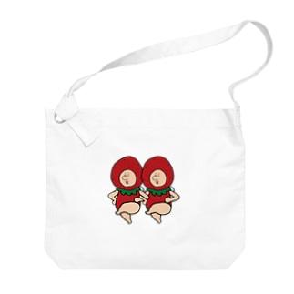 いちごの妖精さん Big shoulder bags