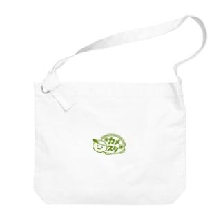 亀有テラスハウススタジオのロゴT Big Shoulder Bag