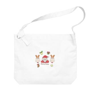 ふんわりクリスマス Big shoulder bags
